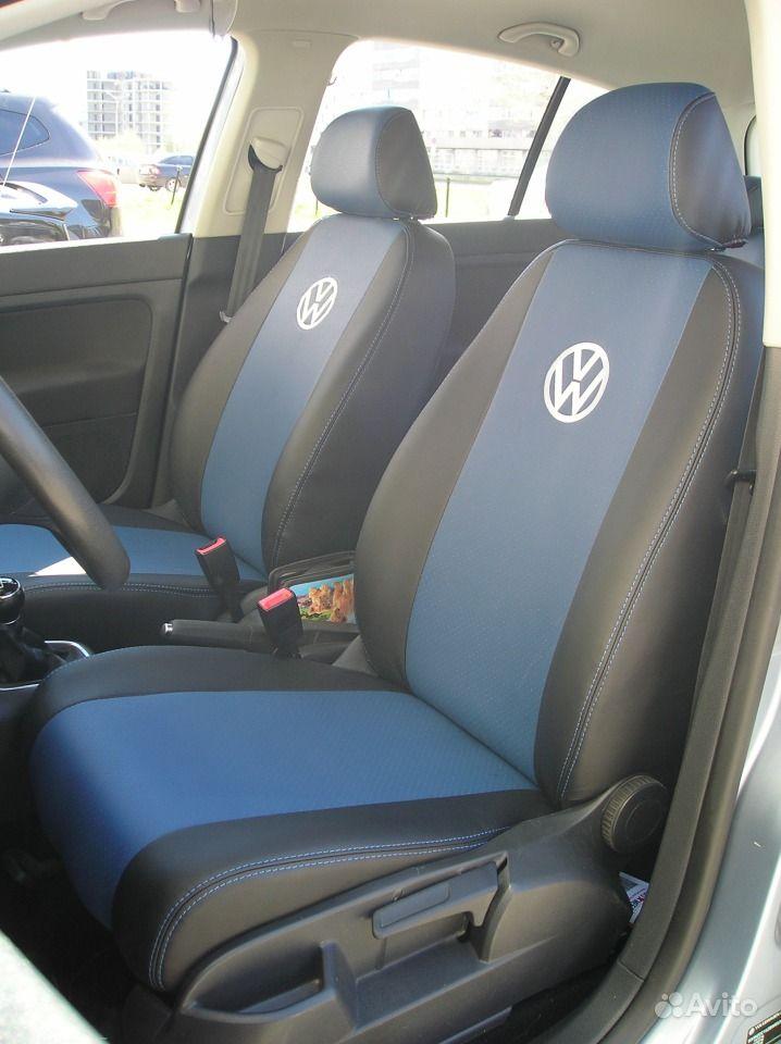 Модельные авточехлы из экокожи на Volkswagen Golf. Автоэлектроника, автоак