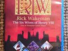 Rick Wakeman live BLU-RAY 6 wives of Henry 8