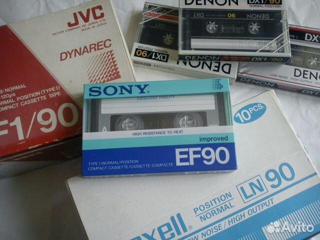 Аудио кассета Sony EF90
