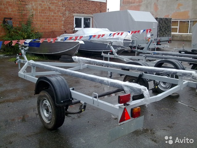 цены на прицепы для лодок в перми