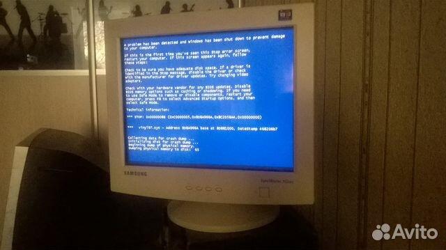 Монитор syncmaster 551s