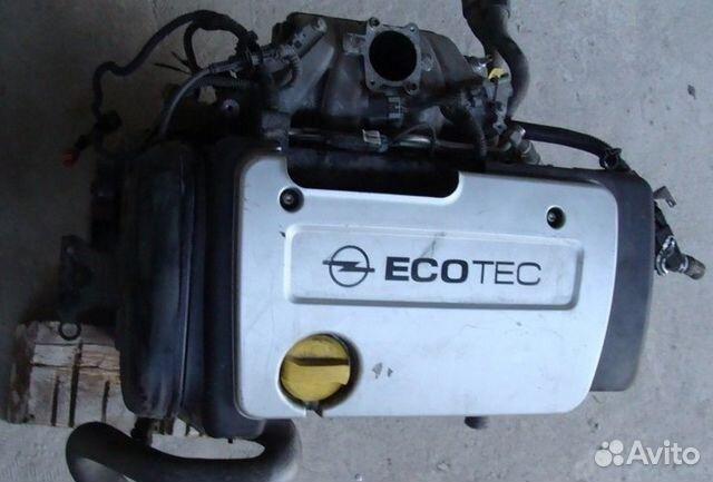 Двигатель z16xe 16 xe opel zafira a - 89 000 km