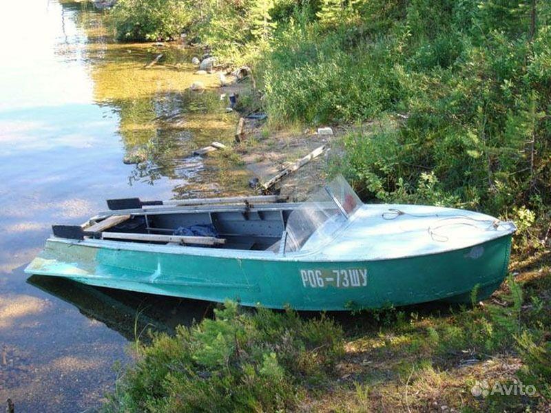лодка казанка с булями б у