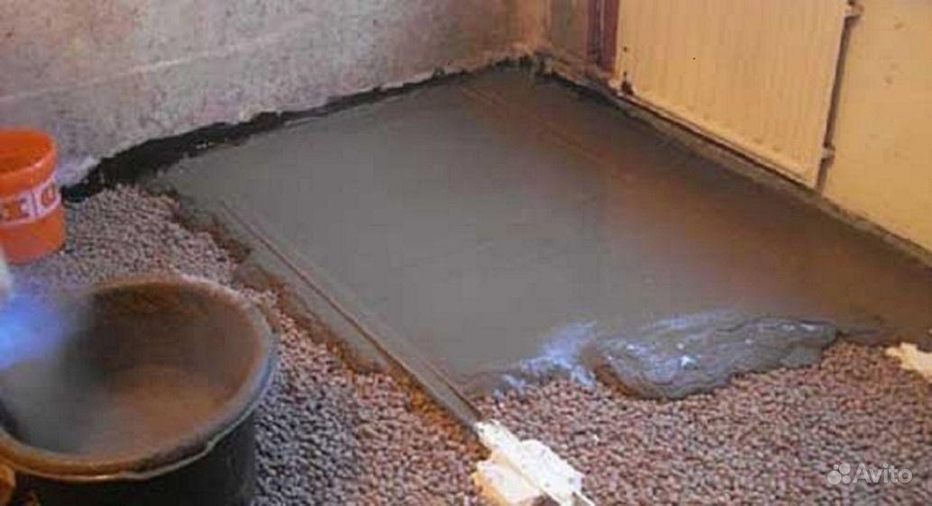 Как сделать наливной пол в квартире.