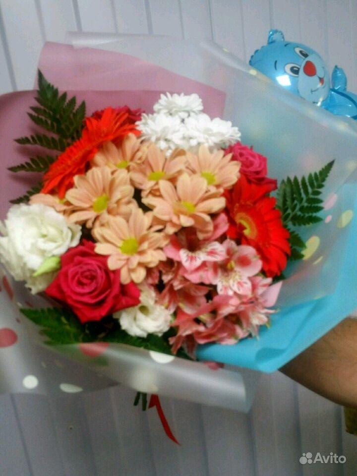 Свежие живые цветы купить на Зозу.ру - фотография № 9