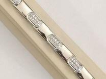 2,6 ct золотой браслет с бриллиантами