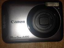 Продам фотоаппарат Canon PowerShot A490