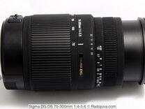 Sigma AF 70-300mm f/4-5.6 DG Canon EF