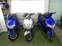 Скутер Suzuki Address 110 серебряный металлик — Мотоциклы и мототехника в Москве