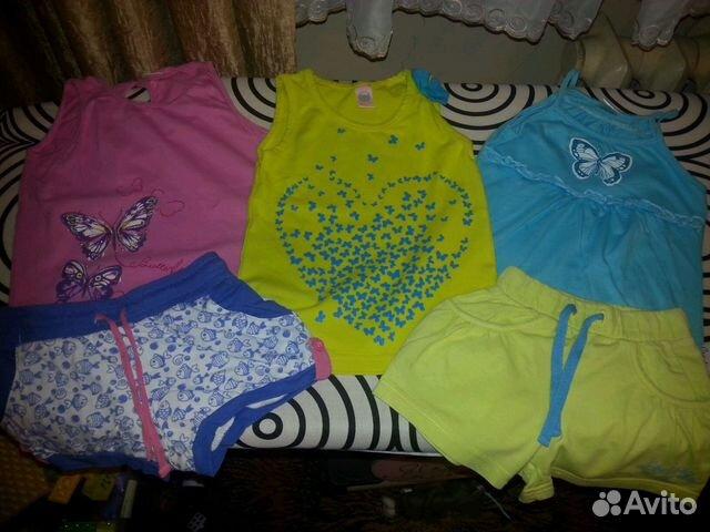 b5b2542a03cd1d1 Летние вещи для девочки купить в Московской области на Avito ...