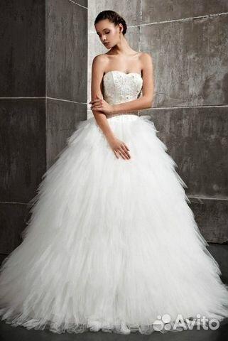299abbc7c72d3d6 Свадебное платье купить в Москве на Avito — Объявления на сайте Авито