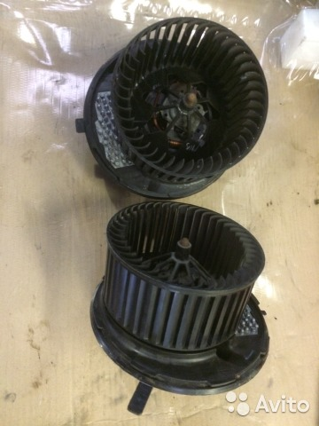 Мотор отопитель Ауди А3 3C0907521F F995748Q— фотография №2