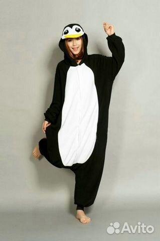 Пижама с капюшоном кигуруми