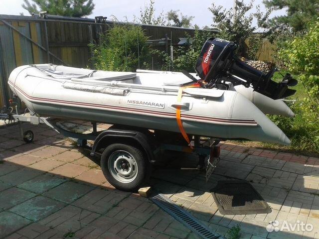 ниссамаран лодки с мотором