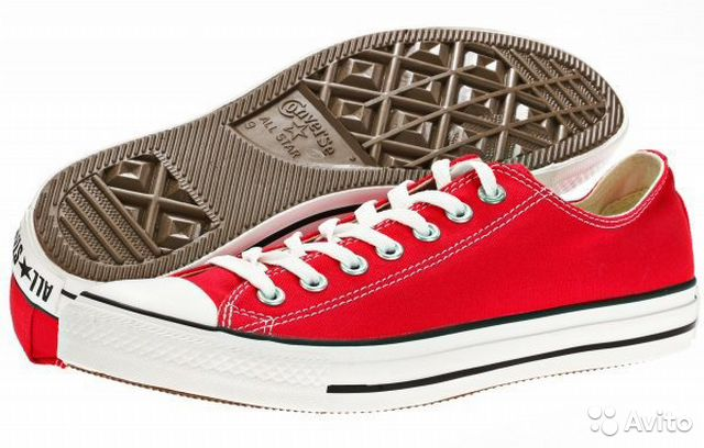 Кеды Converse Chuck Taylor AS Core M9696 Red— фотография №1