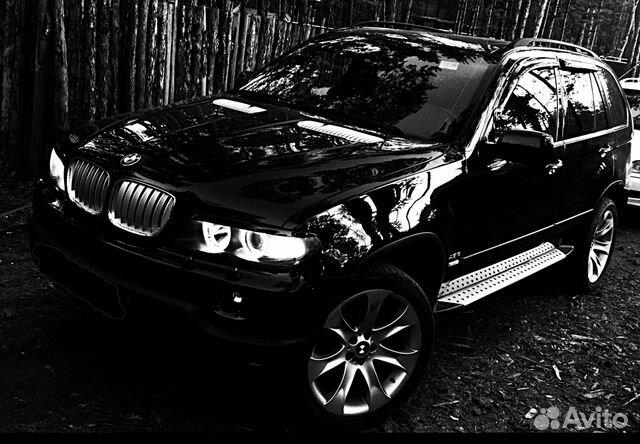 бмв х5 черно белое фото #3