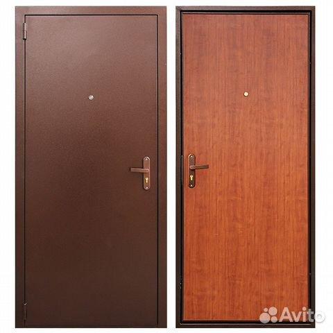 входная дверь из стали