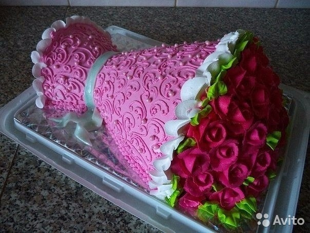 Торт букет фото