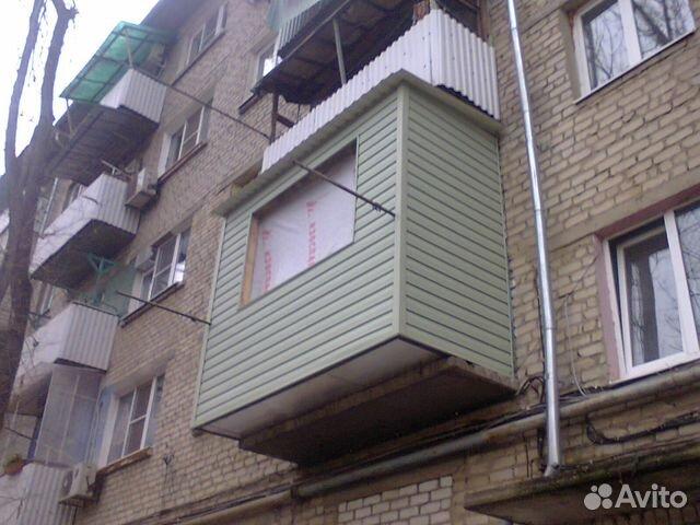 Услуги - увеличение площади балконов и лоджий в астраханской.