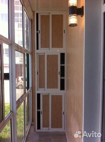 Встроенный шкаф на балкон купить в иркутской области на avit.