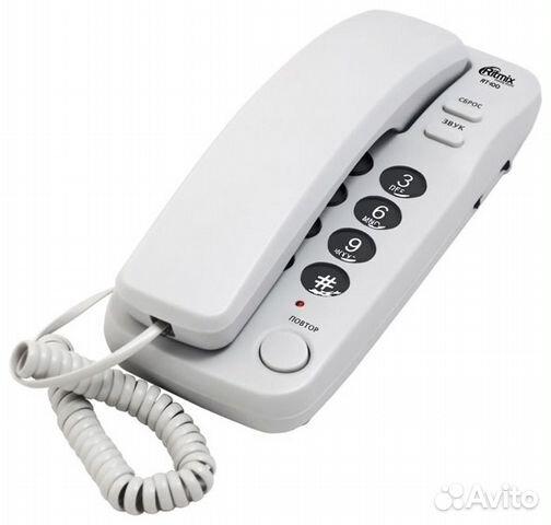 Кнопочный проводной телефон Ritmix RT-100 89101939470 купить 1