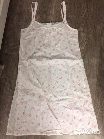 0c48b9000ed7e3a Ночная сорочка женская батистовая, размер 42 | Festima.Ru ...