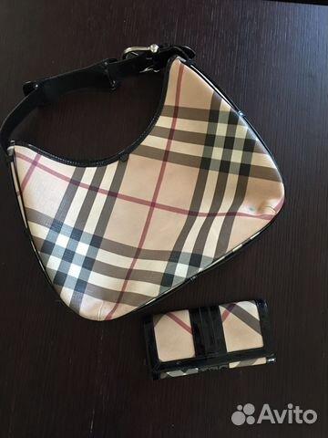 Burberry сумка и кошелек   Festima.Ru - Мониторинг объявлений 7616436d262