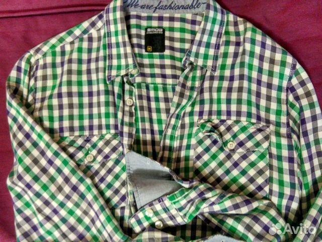 9a116a2246f Мужская рубашка в клетку
