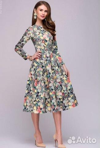 ff6871f8b82 Осеннее платье миди купить в Москве на Avito — Объявления на сайте Авито