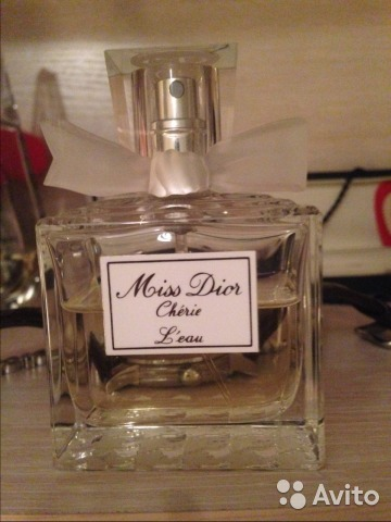 Духи Christian Dior Miss Dior Cherie Leau  a25fd4de1e68a