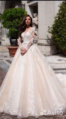 57c1359dd74 Свадебное платье Испания новое купить в Москве на Avito — Объявления ...