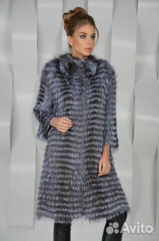 bc92b188426 Кашемировое пальто   Чернобурка   Кашемир