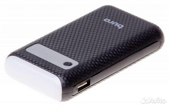 89061815336 Внешний мобильный аккумулятор на 7500 мАч Buro