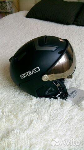 75cec0a46a15 Шлем briko stromboli visor 1V