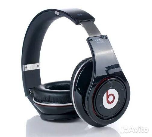 Наушники Beats Studio Wireless (глянцевый черный)  48136e211000a