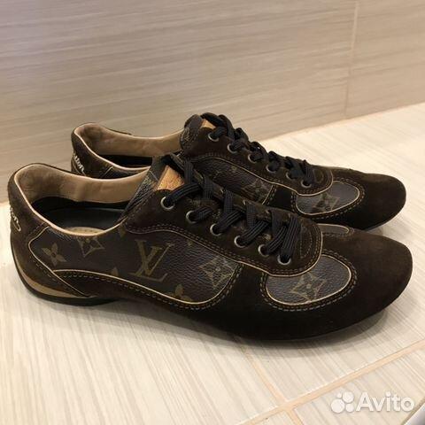 3cddbb2faf13 Кеды Louis Vuitton оригинал р.37,5 (25-25,5 см) купить в Москве на ...