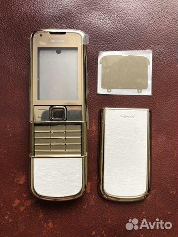 Корпус Nokia E66 White Steel. Оригинал. NEW  80eeded6ffd4a