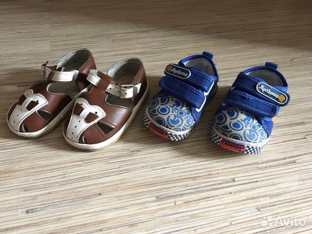 ade197948 Детская обувь для мальчика купить в Кемеровской области на Avito ...
