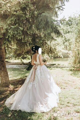 01048ce72d3416b Волшебное свадебное платье купить в Саратовской области на Avito ...