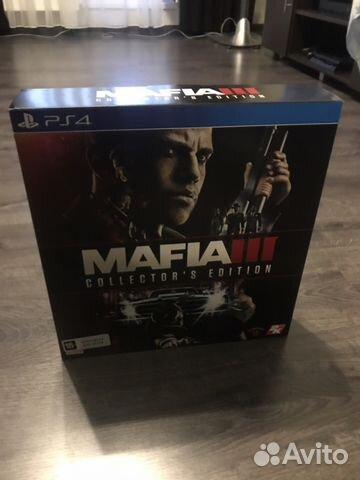 mafia 3 collectors edition ps4 купить