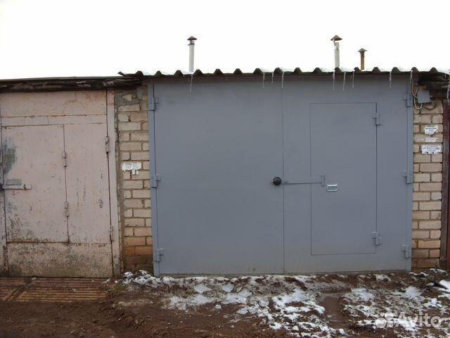 железный каркас гаража