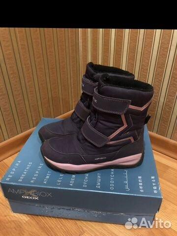 8943bd812 Geox зимние ботинки для девочки | Festima.Ru - Мониторинг объявлений