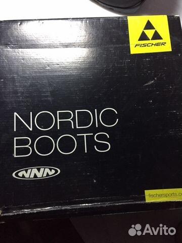 Лыжные ботинки fischer,размер 36-37 купить 2