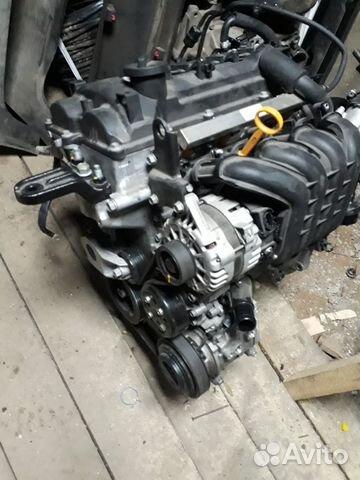 Двигатель Kia/Hyundai 1 6 G4FG 2018 год