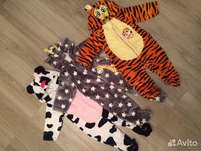Пижама детская купить в Санкт-Петербурге на Avito — Объявления на ... 87bc9465ab3b0
