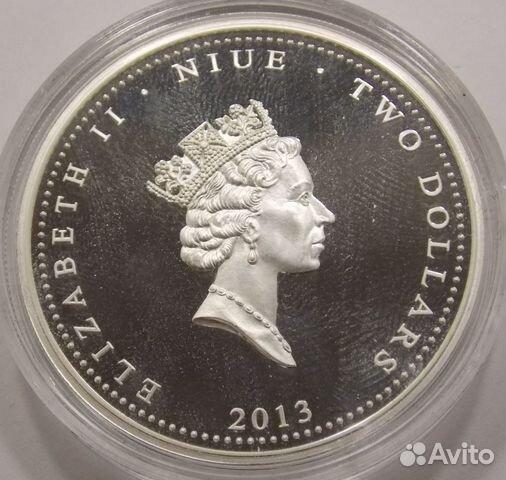 2 доллара 2013 Ниуэ.Набор монет (3 шт.) 89617538239 купить 9