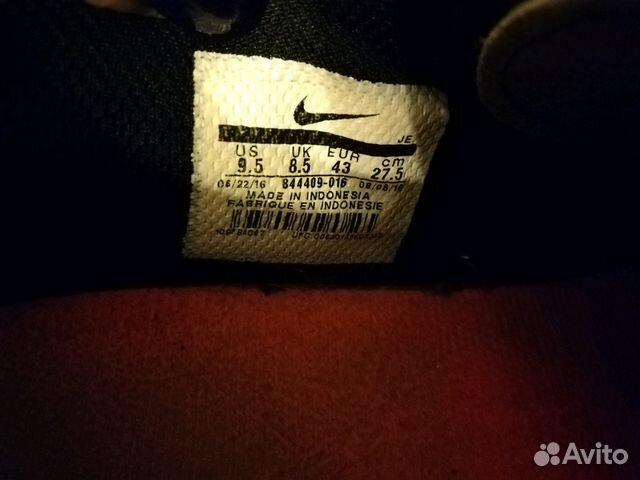3c2a964d Кроссовки Nike настоящие, бутсы р 42-43 купить в Москве на Avito ...