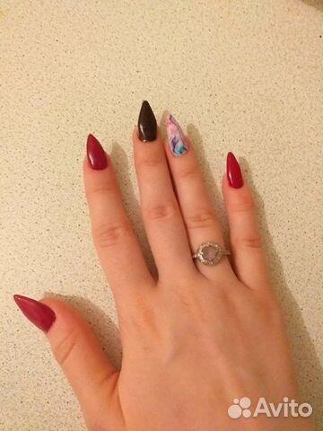 Ногти Простой Дизайн В Домашних Условиях Фото