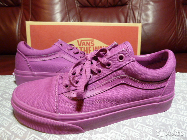 341b788f Кеды Vans Old Skool Orchid из США US 7M (23.5см) купить в Москве на ...