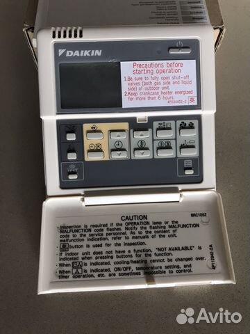 Daikin Пульт сплит системы brc1d528  новые купить в Москве на Avito